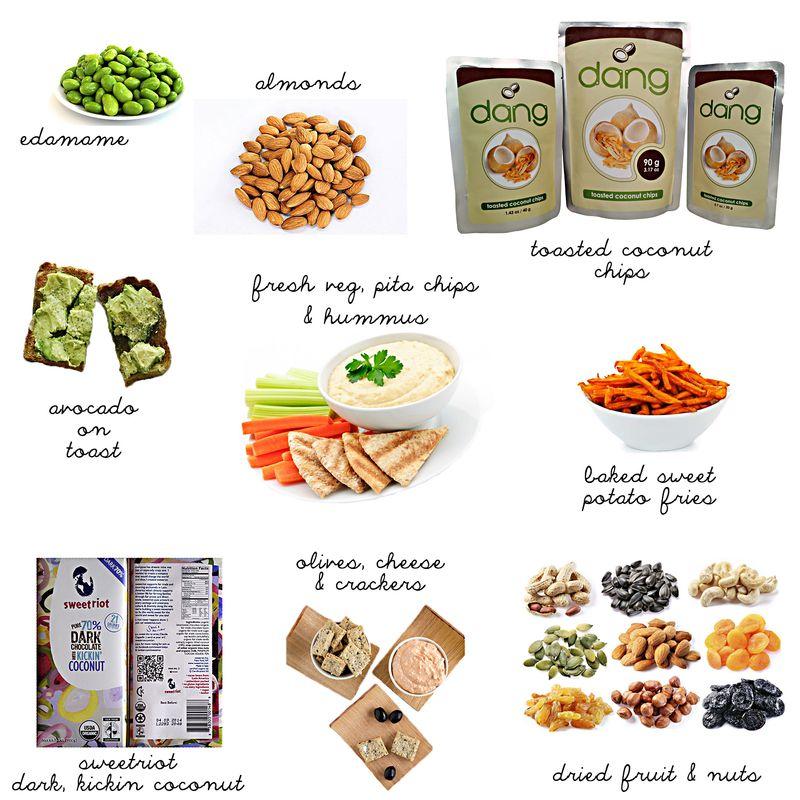 Body nurturing snacks